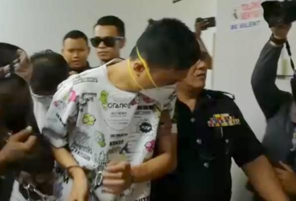 Tiga suspek kes Sungai Kim Kim didakwa