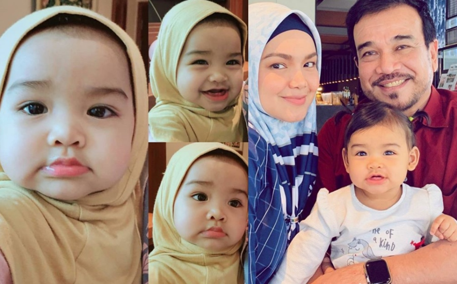 Kongsi gambar Aafiyah bertudung, Siti Nurhaliza buat ramai netizen geram