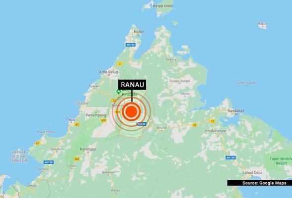 Gempa bumi lemah di Ranau