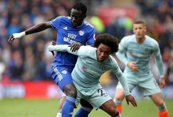 Gol ofsaid bantu Chelsea raih kemenangan