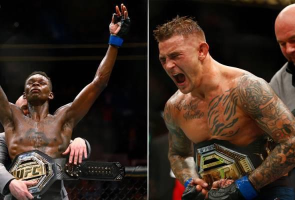 UFC 236: Poirier, Adesanya juara baharu Interim UFC