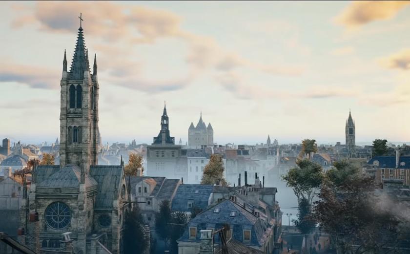 bagi siri permainan video Asassin's Creed. - Youtube / Assassin's Creed UK