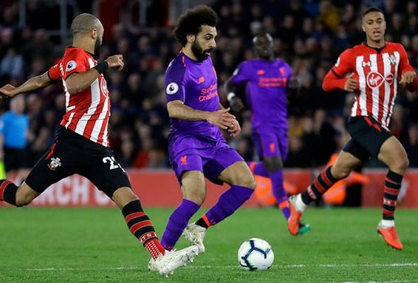 Mohamed Salah cetus kebangkitan Liverpool di St Mary