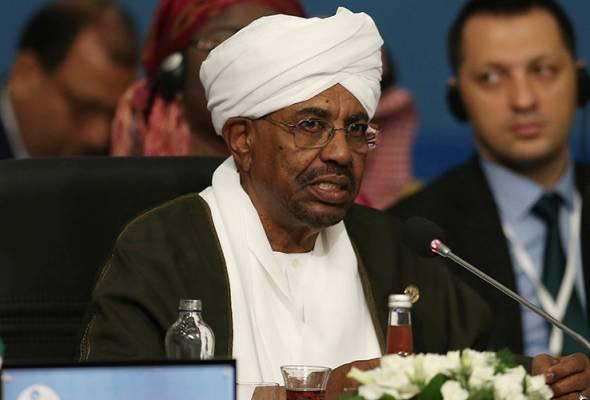 Presiden Omar al-Bashir digulingkan tentera, Sudan isytihar darurat