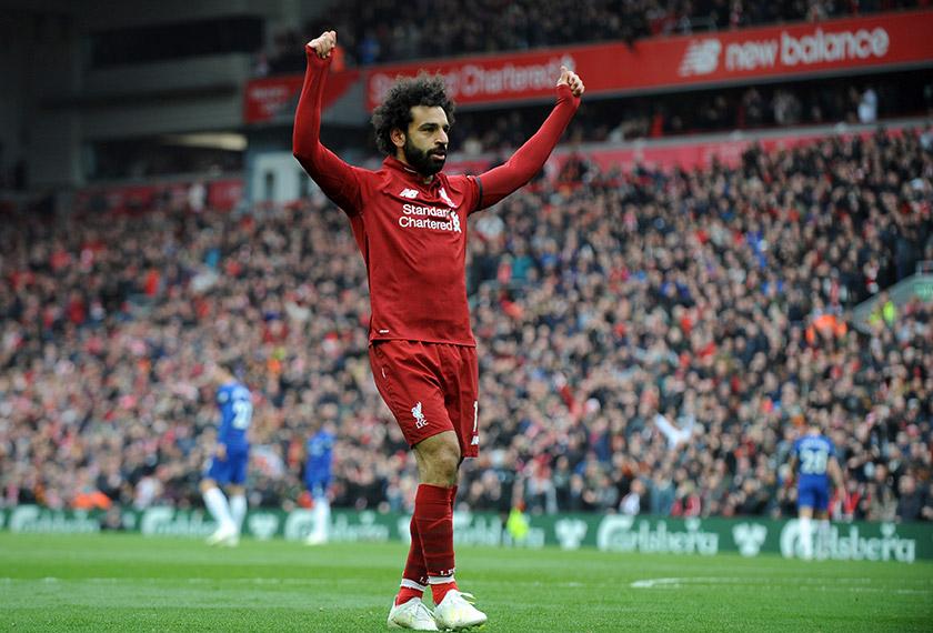 Turut tersenarai, pemain bola sepak kelab Liverpool kelahiran Mesir, Mohammed Salah. - Gambar fail