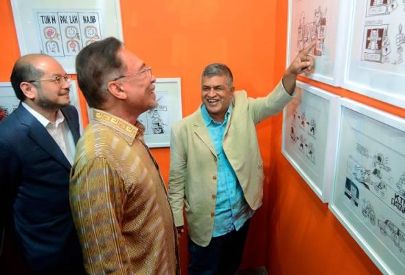 202 karya kartunis Zunar dipamerkan di Pulau Pinang