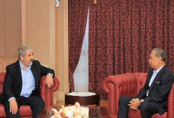 Muhyiddin terima kunjungan hormat bekas pengerusi Hamas