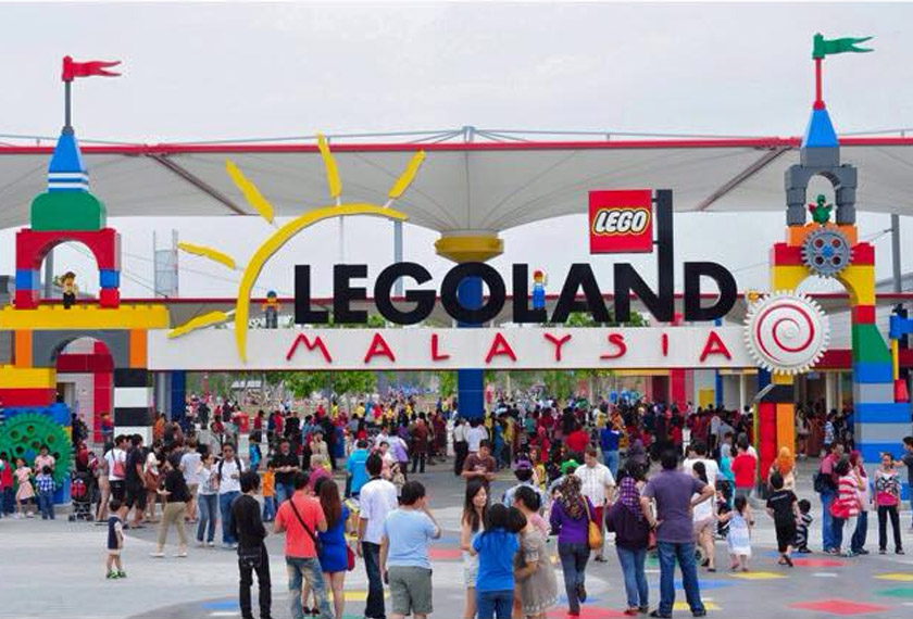 Legoland is a great destination to bring kids along.