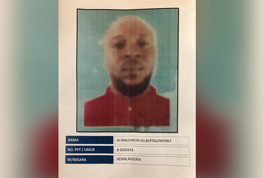 Seorang lagi suspek warga Nigeria kini menjadi buruan polis bagi membantu siasatan.