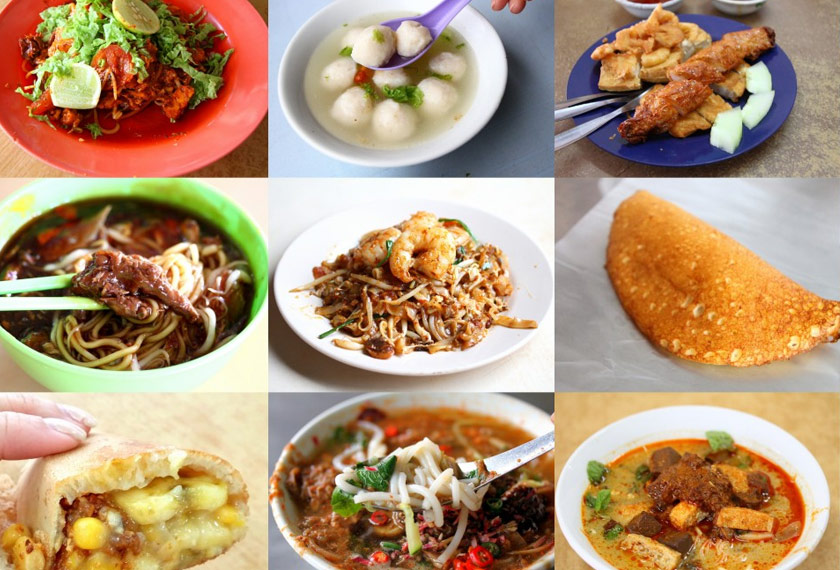 Penang is often known as the 'Food Heaven Of Malaysia'.