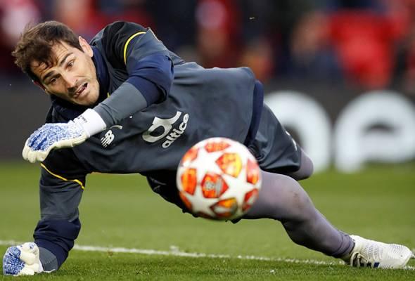 Iker Casillas kena serangan jantung