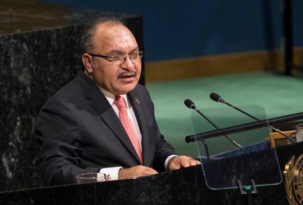 PM Papua New Guinea letak jawatan