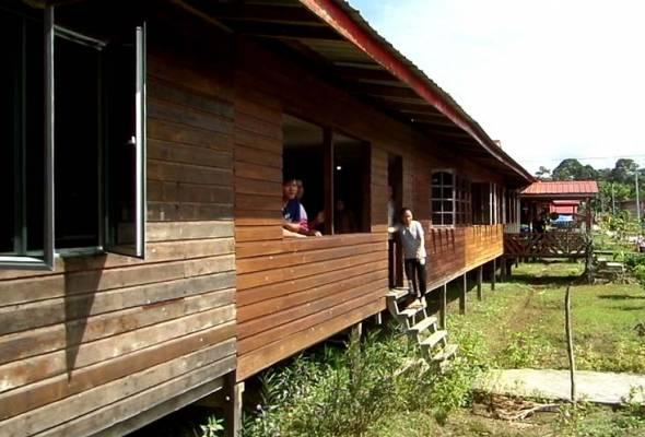 Struktur Rumah Panjang Lambang Perpaduan Sebenar Astro Awani