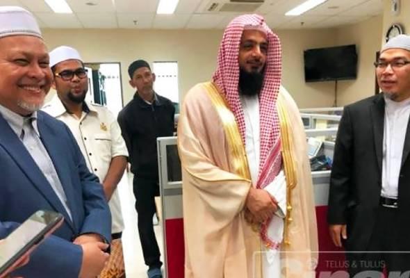 Imam Arab Saudi pilih Kelantan