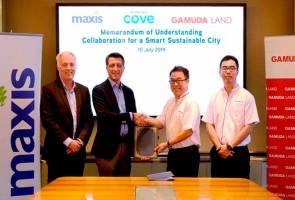 Gamuda Land, Maxis bentuk perkongsian laksana 5G bagi Gamuda Cove 2