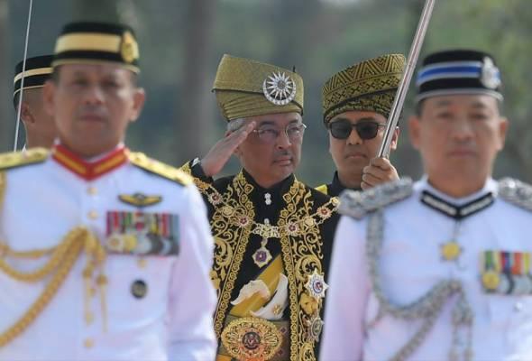 Agongkita Ikrar Sultan Abdullah Sebagai Yang Di Pertuan Agong Ke 16 Astro Awani