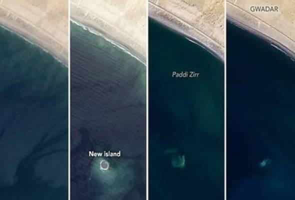 Pulau 'gempa bumi' ditelan Lautan Hindi