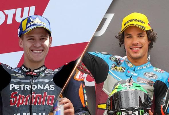 Dua pelumba Petronas Yamaha SRT sedia berlumba selepas rehat musim panas