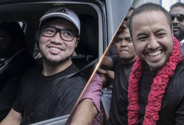 Video intim: Farhash dan Haziq bebas reman