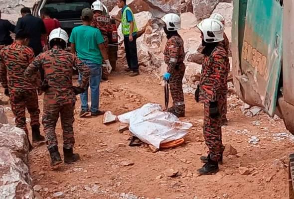 Lelaki maut dihempap batu kuari