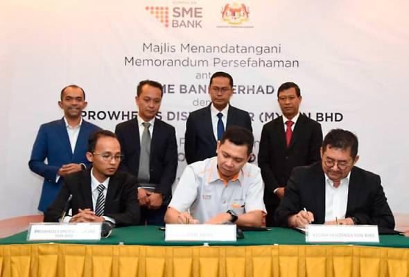 SME Bank jalin kerjasama penjenamaan bersama Kedah Holdings