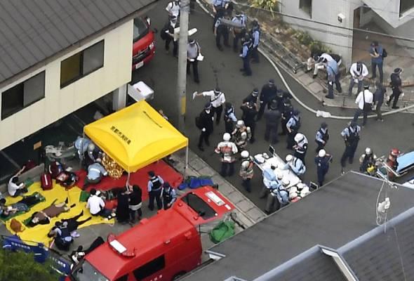 Seramai 25 maut kebakaran studio animasi di Jepun