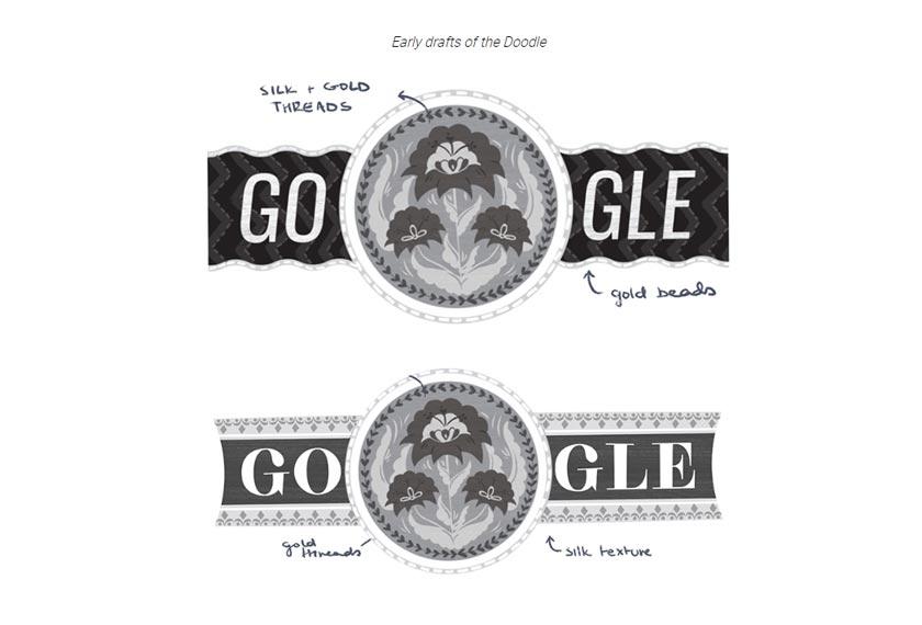 Ini merupakan dua draf yang ditunjukkan sebelum hasil akhir diterbitkan