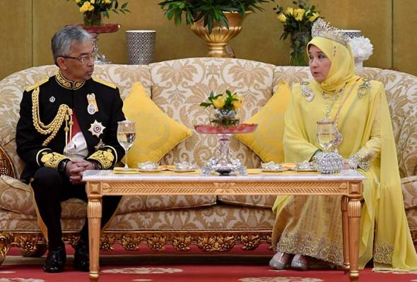 Puding Diraja Pahang menu istimewa Majlis Santapan Diraja