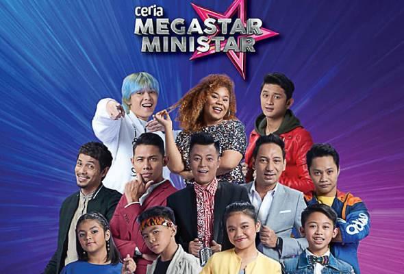 Siapa juara Ceria Megastar Ministar musim pertama?