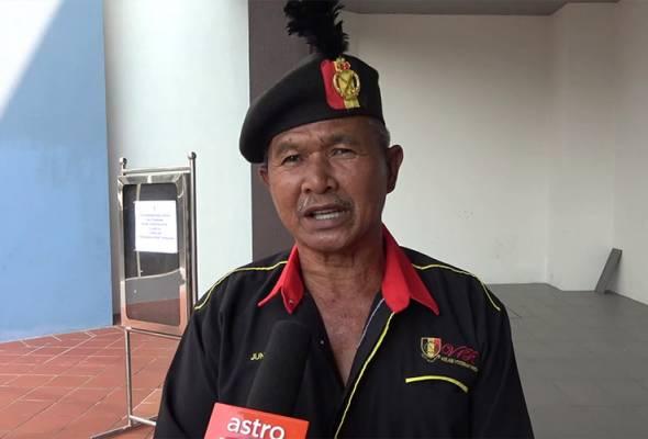 'Peluru musuh masih terbenam di tulang dada'