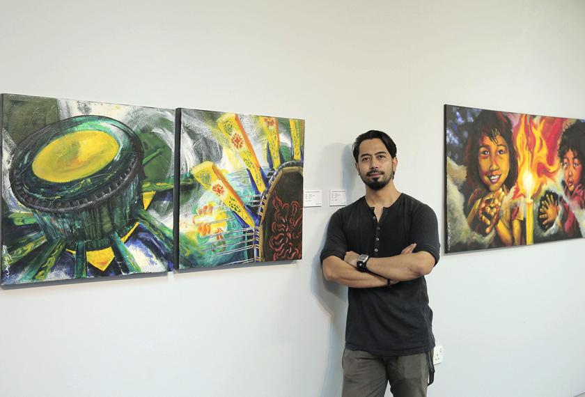 Wan Raja yang pernah menjadi pensyarah seni akui mata pelajaran seni perlu diberi kepentingan. - Foto: Astro AWANI/Shahir Omar