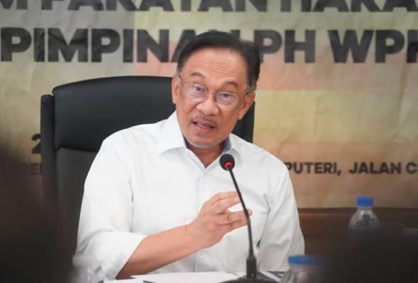Saya jumpa Agong? Itu fake news - Anwar Ibrahim