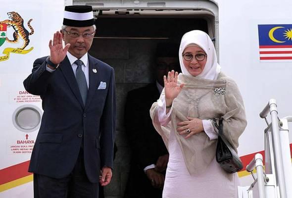 Tunku Azizah 'duet' bersama Melly Goeslaw