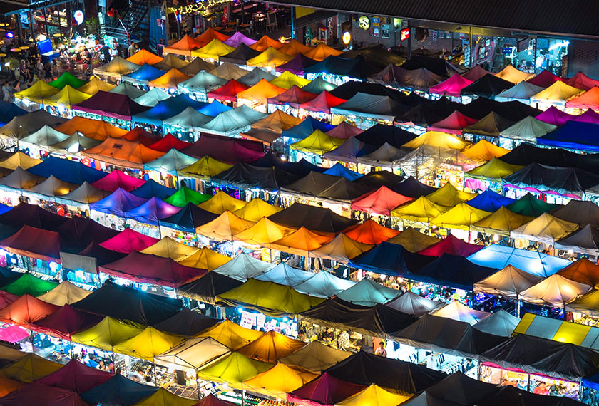 Pasar Minggu Chatuchak.