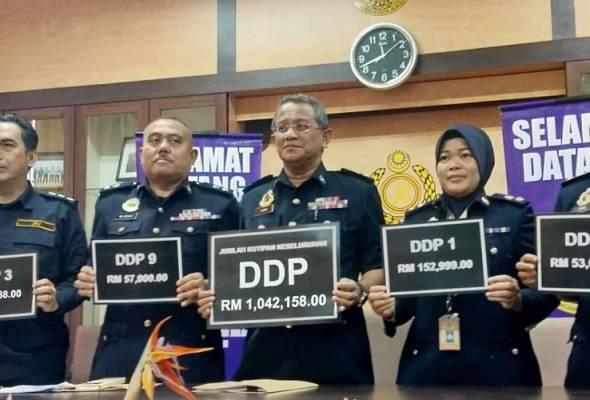 JPJ Kelantan kutip RM1.04 juta bidaan nombor pendaftaran DDP