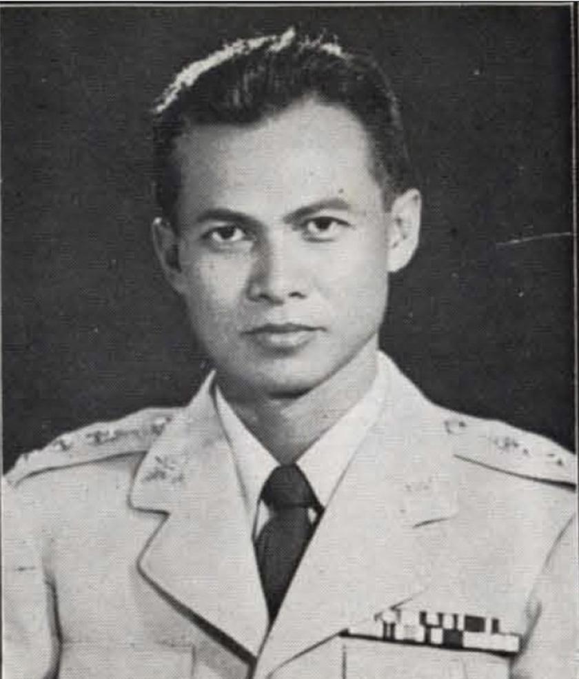 Prem Tinsulanonda pada 1959. Sekretariat Parlimen Thailand/Ceritalah