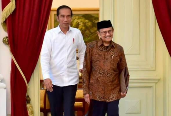 Jokowi tidak sempat bertemu Habibie