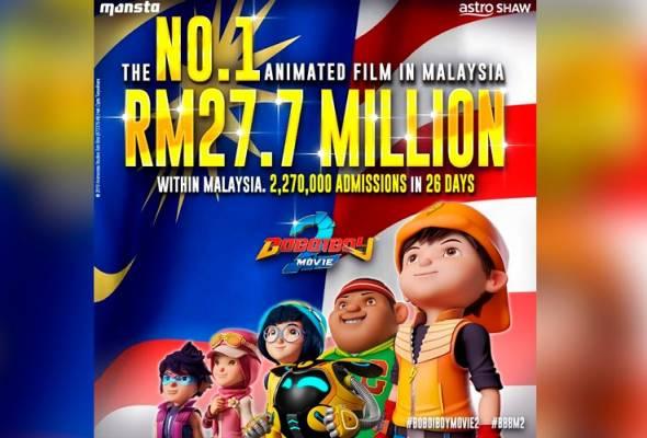 Filem animasi negara banyak potensi, perlukan dana eksport - Penggiat