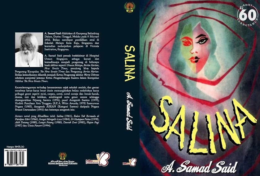 Novel Salina edisi khas sempena ulangtahun ke-60 versi kulit keras.