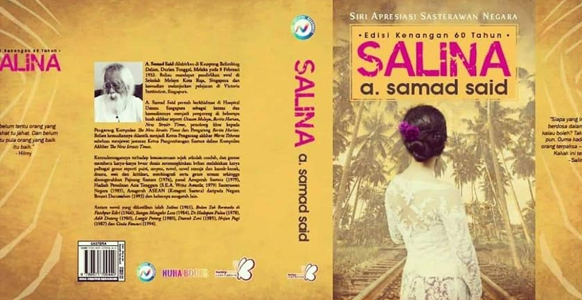Novel Salina edisi khas sempena ulangtahun ke-60 versi kulit lembut