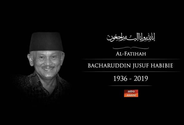 Bekas Presiden Indonesia, Habibie meninggal dunia