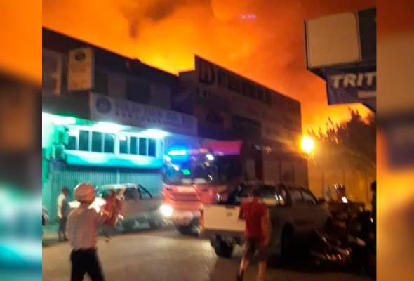 29 rumah musnah kebakaran, 200 orang hilang tempat tinggal