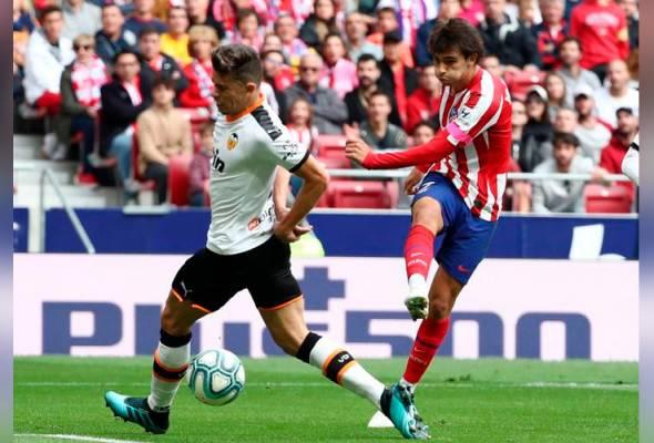 Atletico kehilangan Joao Felix akibat kecederaan