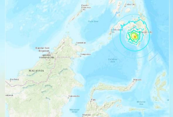 Selatan Filipina dilanda gempa 6.6 magnitud