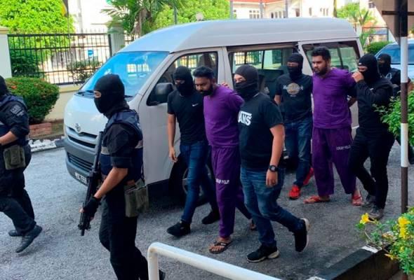 Juruteknik, pemandu teksi didakwa sokong kumpulan pengganas LTTE