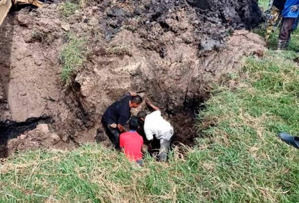 Pemuda maut tertimbus tanah waktu bina perigi