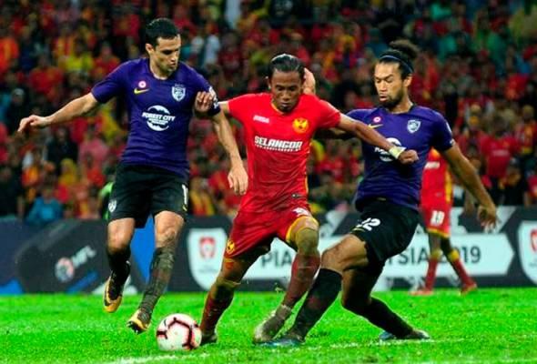 Harimau Selatan, Lang Merah tentukan kejuaraan Piala Malaysia