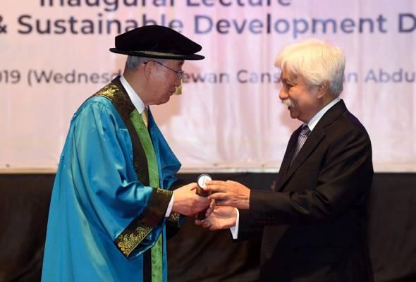 Amanat pembangunan mapan Ban Ki-Moon kepada Malaysia