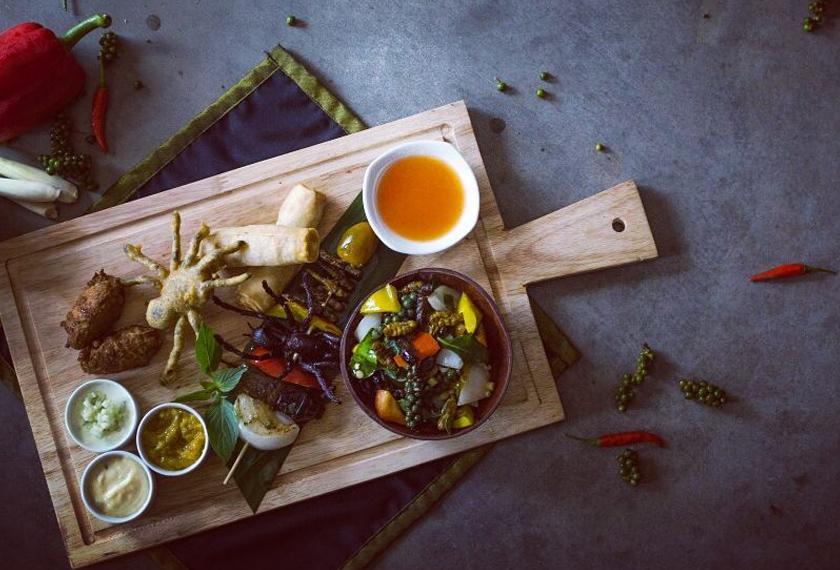 Sentuhan kontemporari chef menghasilkan hidangan yang selayaknya ditawarkan di hotel. - Instagram @bugs_cafe_sr
