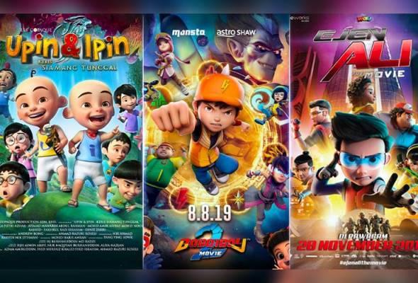 Filem animasi Malaysia kini di tahap membanggakan